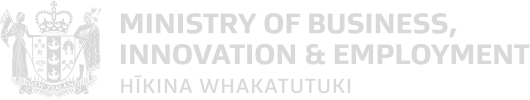 Ministry of Business, Innovation & Employment logo